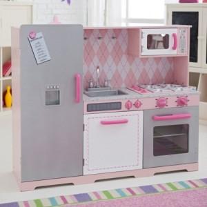 Pink-grey-kidkraft-vintage-play-kitchen-with-cabinet-chart-menu-500x500