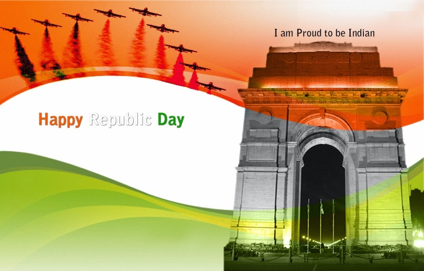 Happy Republic Day 2014.HD Wallpapers and Pics.India Gate