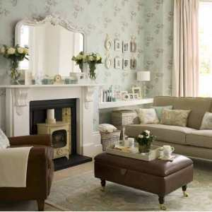 Tan Sofa with Pastels creating beautiful vintage feel