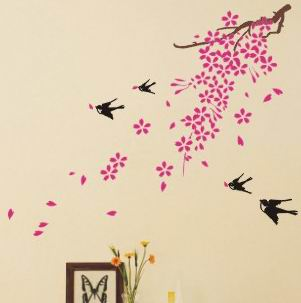 Cherry Blossom and birds