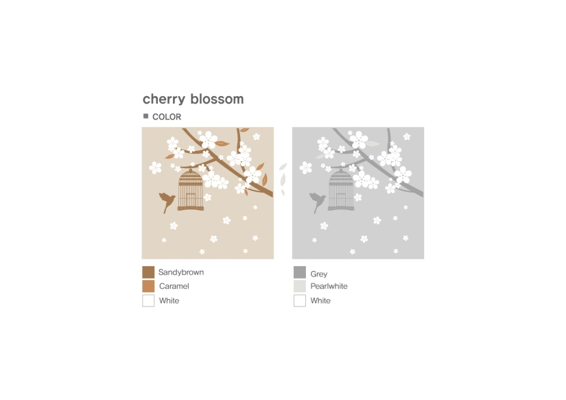 Cherry Blossom Colour Options