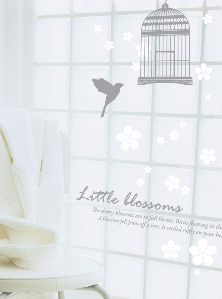 Cherry Blossom Grey White PearlWhite