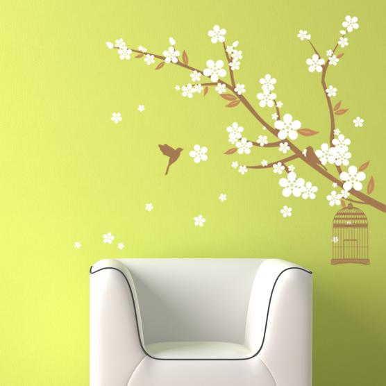 Cherry Blossom SandyBrown Caramel White
