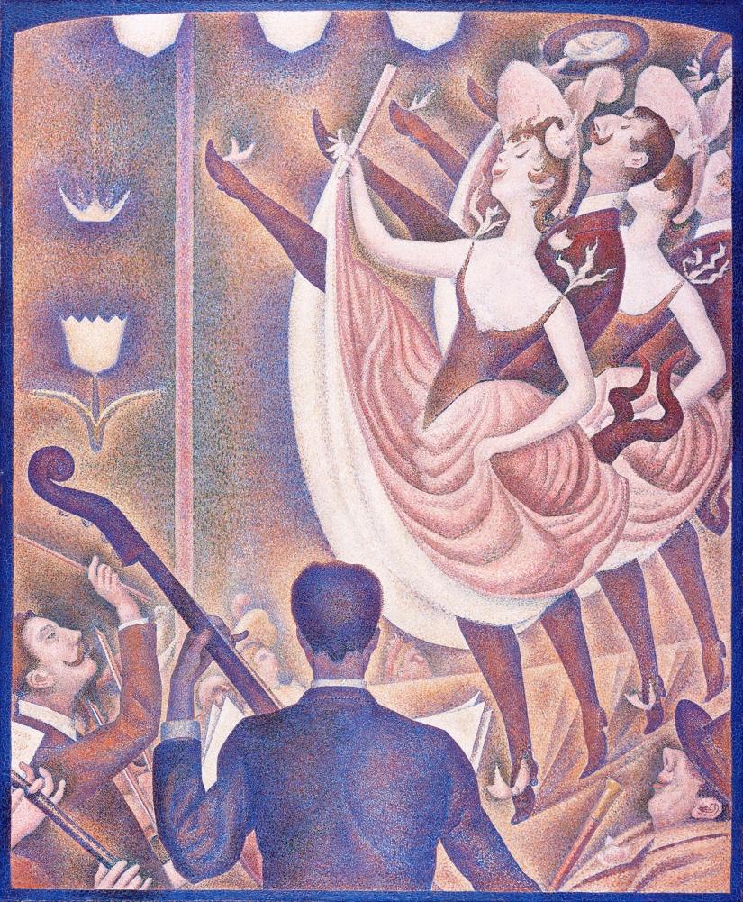 Ocher Art Georges Seurat Le Chahut.jpg