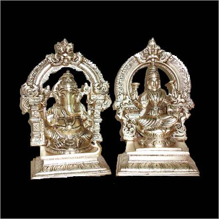 Silver-Laxmi-Ganesh-Statues