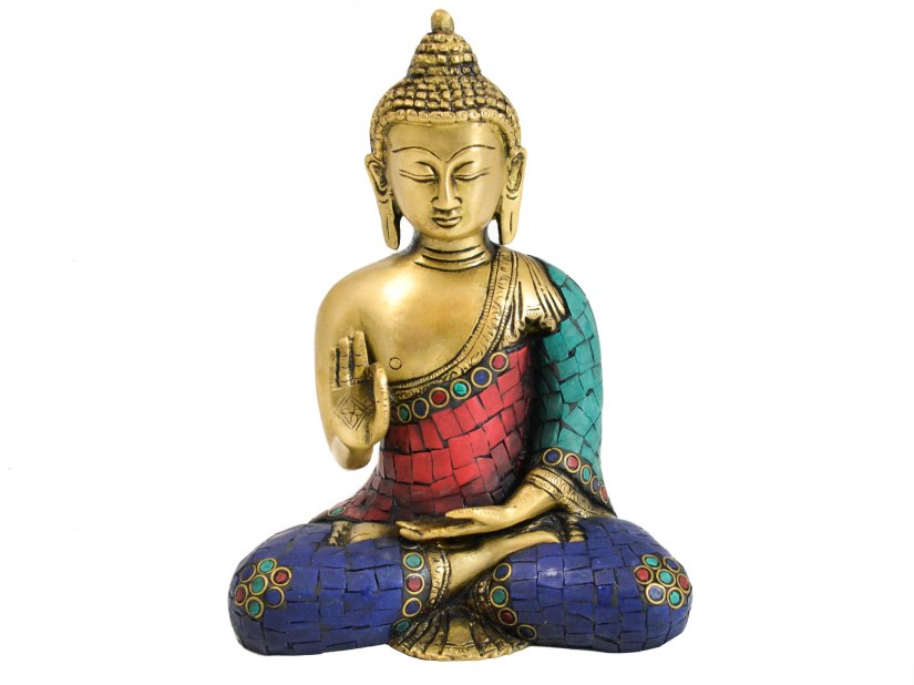 Brass-Meditating-Buddha-Sitting-Statue-1