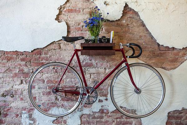 wooden-bike-storage-shelf