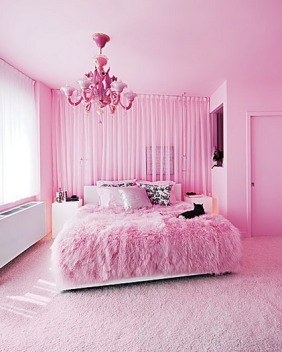 Pink-Rugs-in-Beautiful-Decoration-Modern-Pink-Bedroom-Design-Ideas